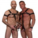 Neoprene Bulldog Harness Black