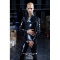 Rubber Full Body Suit with Zip