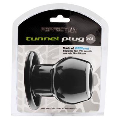 Perfect Fit Tunnel Plug Black  XL