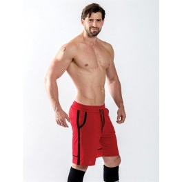 Mister B URBAN Sheffield Shorts Red