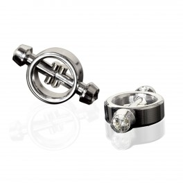 Pipedream Metal Worx Magnetic Nipple Clamps