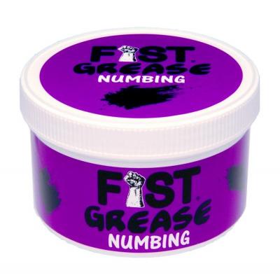 M&K Fist Grease Numbing - znecitlivující fisting lubrikant na olejové bázi 400 ml
