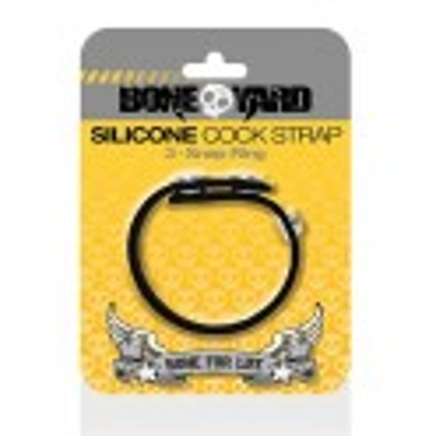Boneyard Cock Strap - silikonový erekční pásek