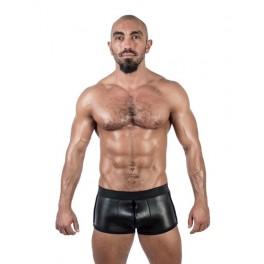 Mister B Neoprene Shorts 3 Way Full Zip Black - neoprenové šortky se zipem