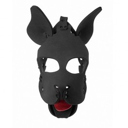 Master Series Neoprene Dog Hood with Removable Muzzle