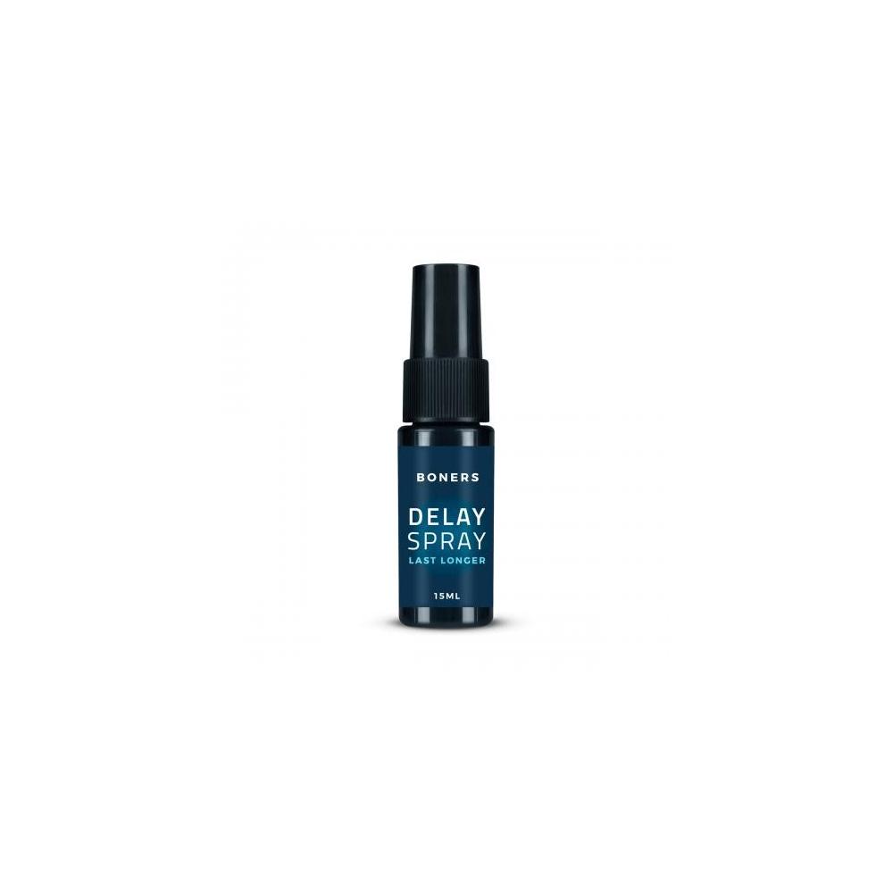 BONERS Delay Spray - sprej pro oddálení ejakulace 15 ml