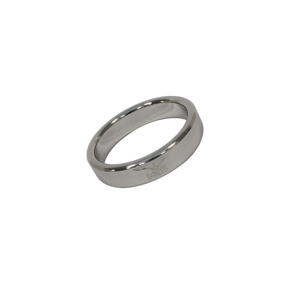 Mister B Cockring Stainless Steel - lehký kovový erekční kroužek