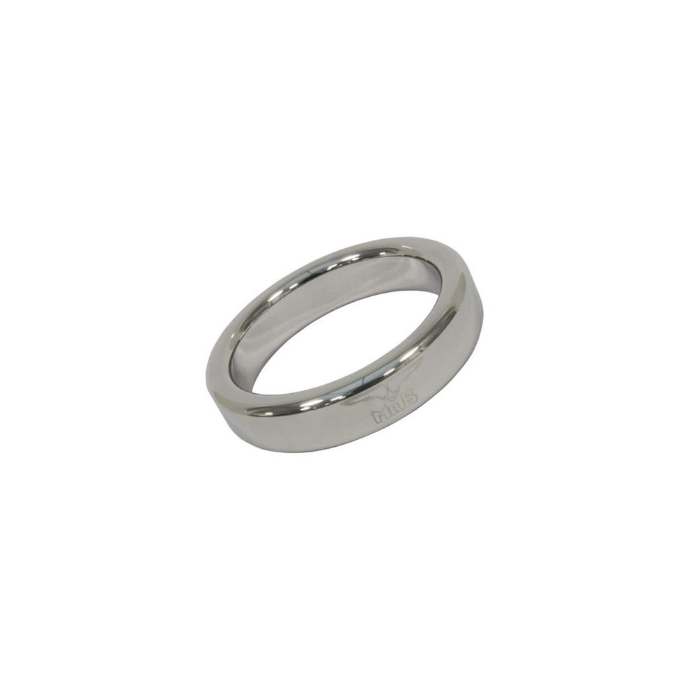 Mister B Cockring Stainless Steel - střední kovový erekční kroužek