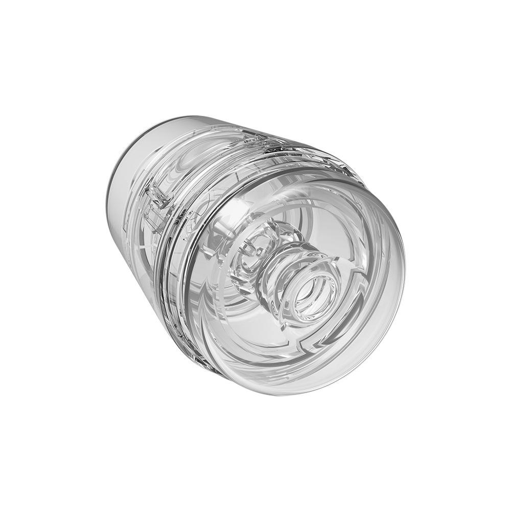 Doc Johnson Main Squeeze™ Pop-Off Optix™ Crystal Clear - masturbátor