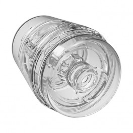 Doc Johnson Main Squeeze™ Pop-Off Optix™ Crystal Clear