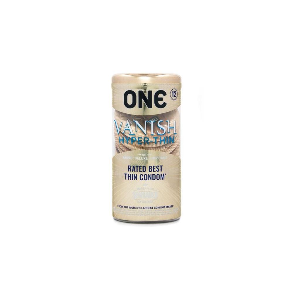 ONE Vanish Hyperthin Condoms  12 Pack