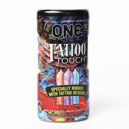 ONE Tattoo Touch Condoms 12 Pack