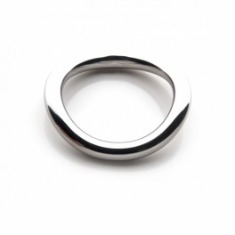 Metal X Stainless Steel Ergo Ring