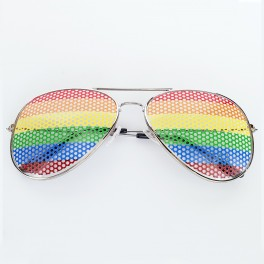 Pride Rainbow Sunglasses Aviator