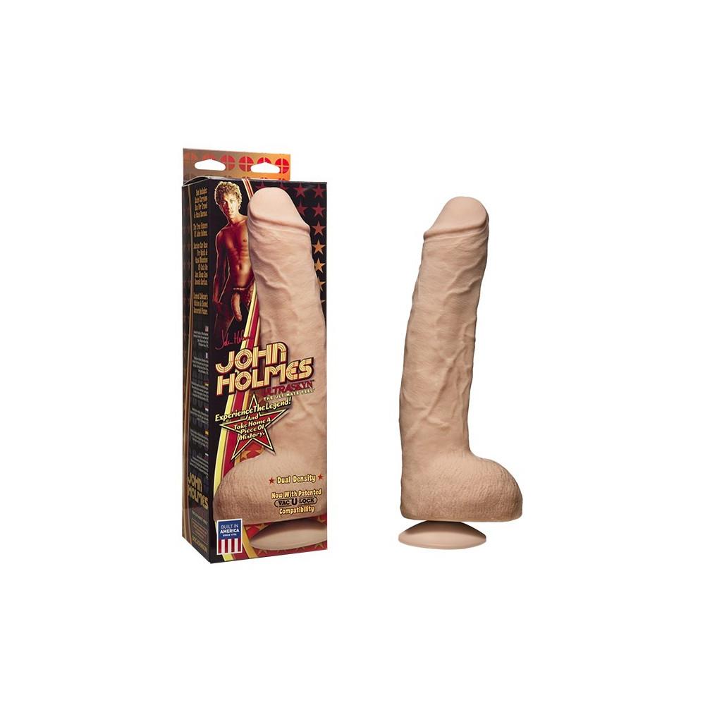 Doc Johnson Vac-U-Lock ULTRASKYN John Holmes Ultra Realistic Cock - 32 x 6 cm