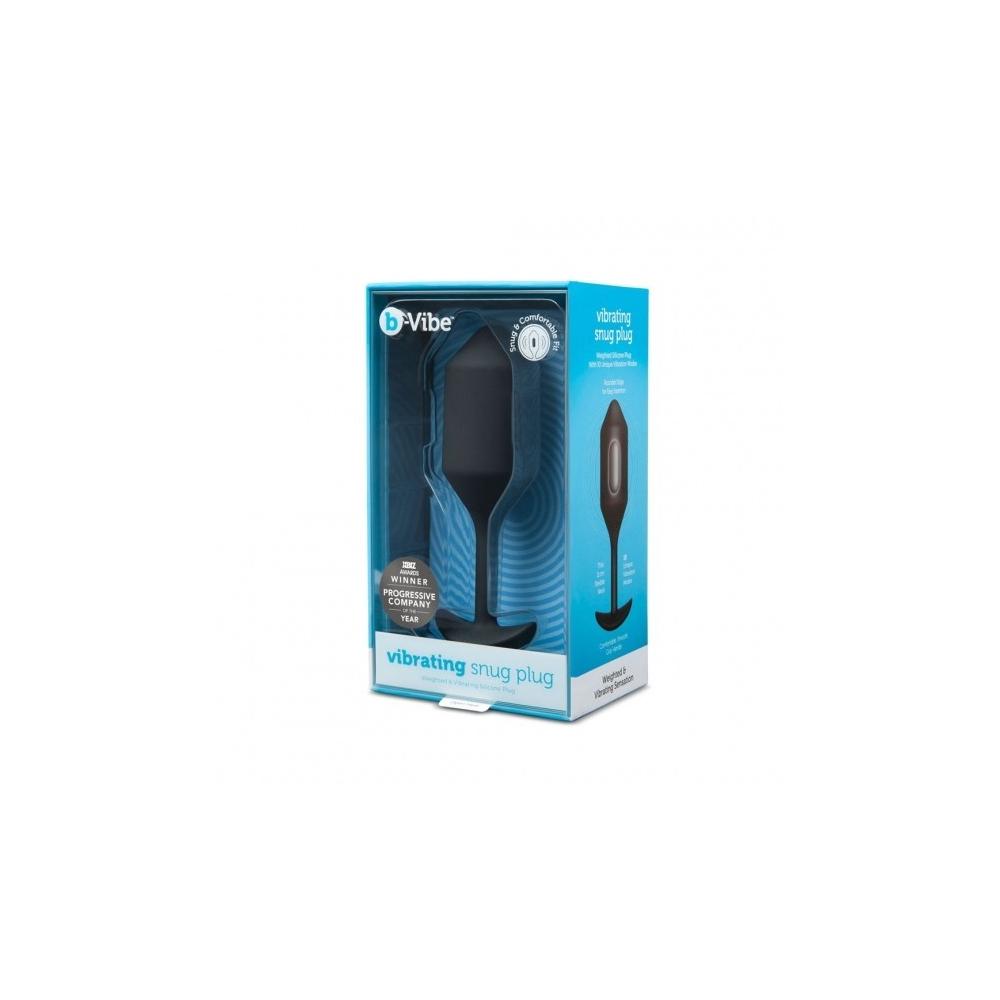 b-Vibe Vibrating Snug Plug XL 15 x 4 cm