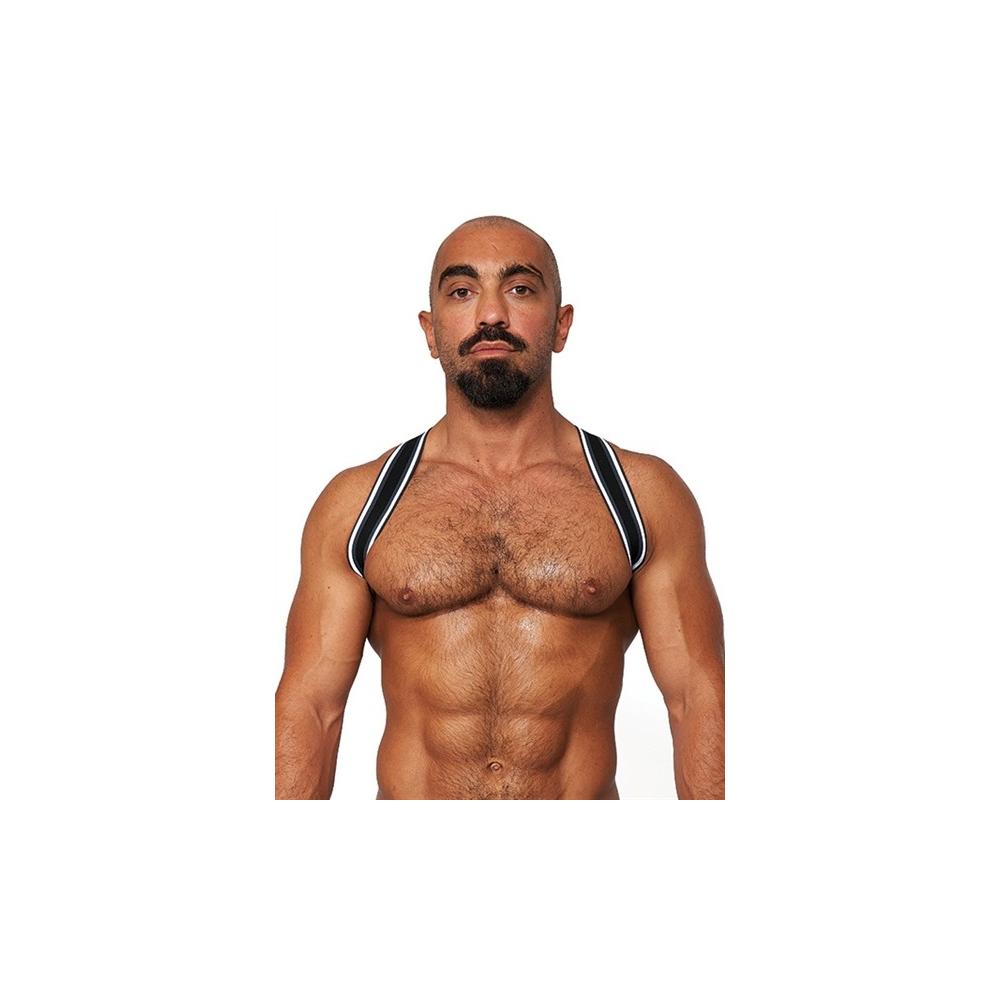 Mister B Urban Club Harness Sling Striped