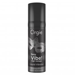 Orgie Sexy Vibe! High Voltage Liquid Vibrator 15 ml