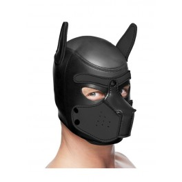 Master Series Spike Neoprene Puppy Hood - Black