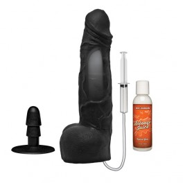 """Doc Johnson KINK 10"""" ULTRASKYN™ Squirting Cumplay Cock with Removable Suction Cup"""