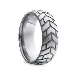 Black Label Stainless Steel Tire DoNut Cockring
