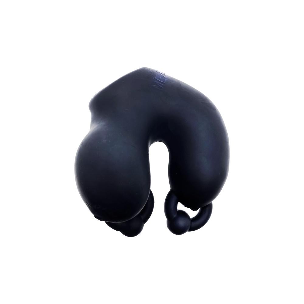 Oxballs Meatlocker Chastity Black Ice