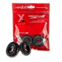 Perfect Fit XPLAY GEAR Premium Stretch Ribbed Ring Slim 2-pack