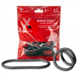 """Perfect Fit XPLAY GEAR Silicone 9"""" Thin Wrap Ring - 2 Pack"""