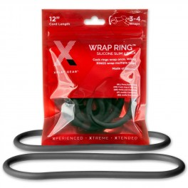 """Perfect Fit XPLAY GEAR Silicone 12"""" Thin Wrap Ring - 2 Pack"""