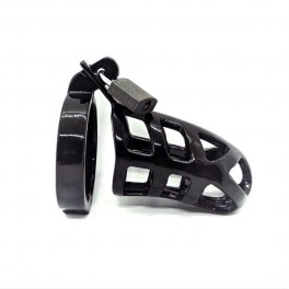 Brutal Chastity Cage Stainless Steel Black