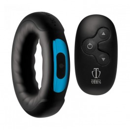 Trinity Vibes Remote Control 7X Silicone Cock Ring