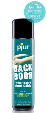 pjur BACK DOOR Regenerating An